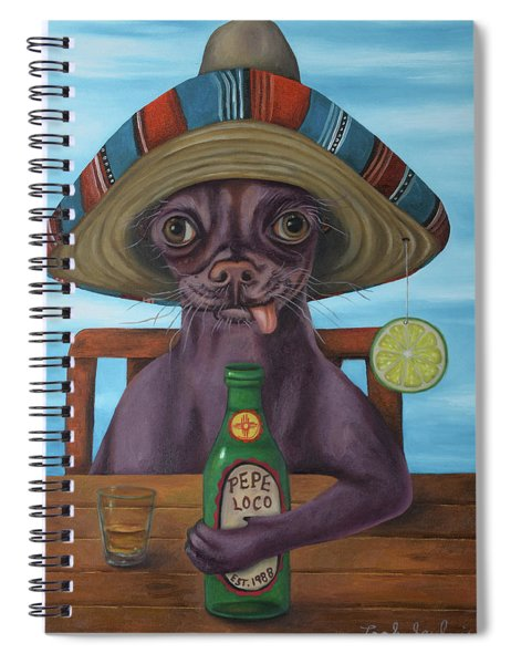 Pepe Loco   Spiral Notebook