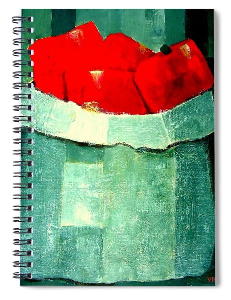 Peperoni Rossi Spiral Notebook