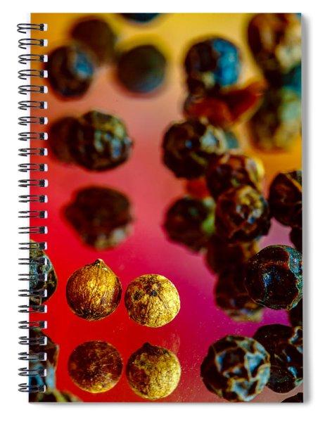 Peppercorns Spiral Notebook