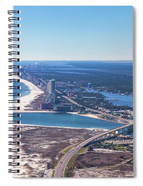 Perdido Pass Bridge Spiral Notebook