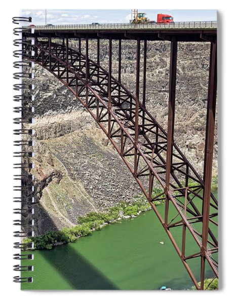 Perrine Bridge, Twin Falls, Idaho Spiral Notebook
