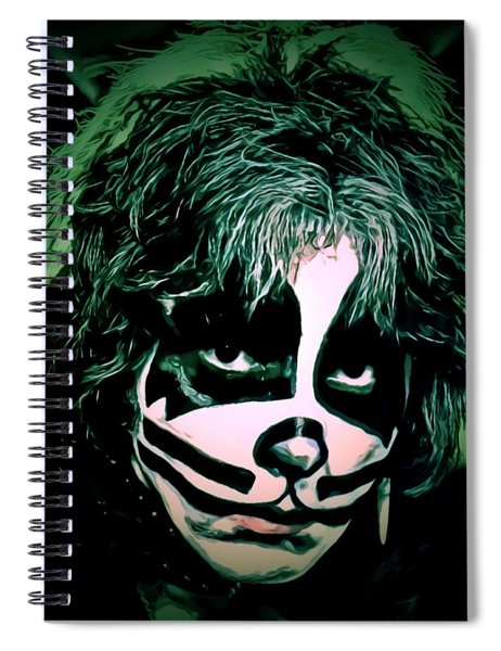 Peter Criss Spiral Notebook
