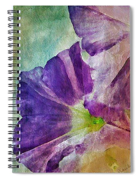 Petunia Spiral Notebook
