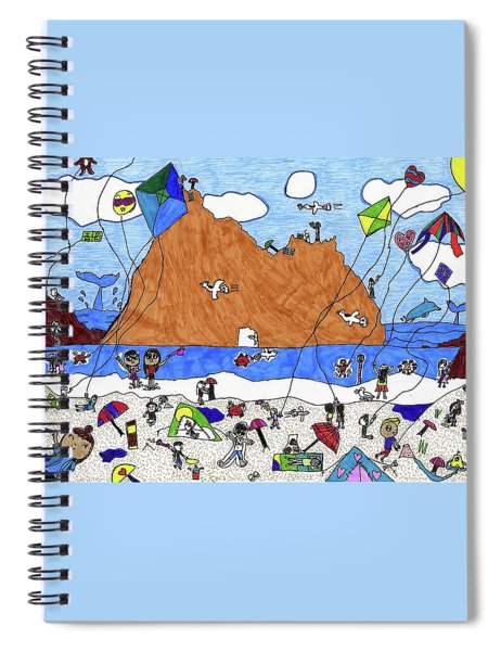 Pfeiffer Beach By Natalie Henriquez Grade 2 Spiral Notebook