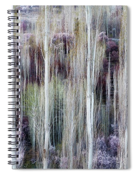 Phases Of Spring  Spiral Notebook