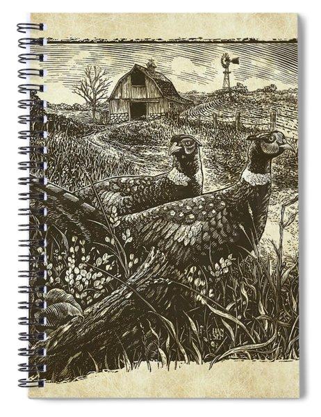 Pheasants Spiral Notebook