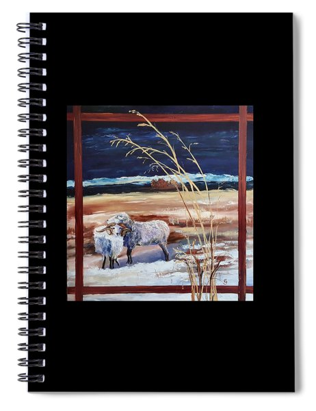 Phil And Alice Navajo Sheep    38 Spiral Notebook