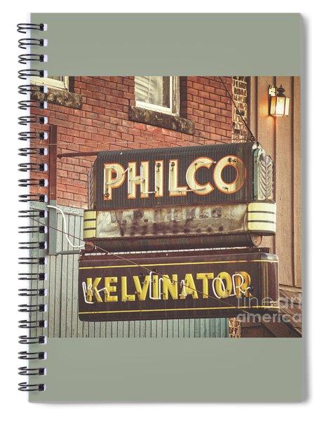 Philco - Kelvinator  Spiral Notebook
