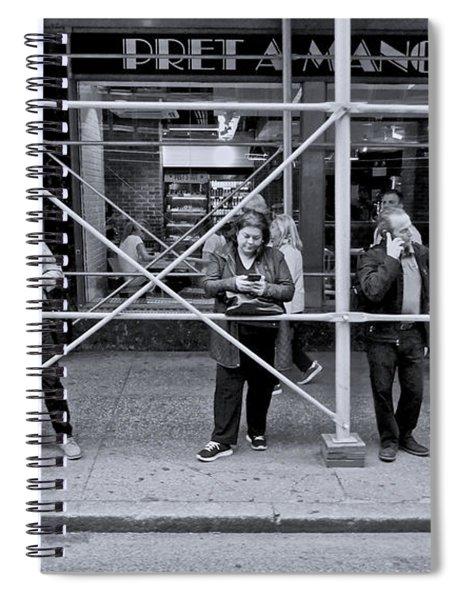 Phone Alone Spiral Notebook