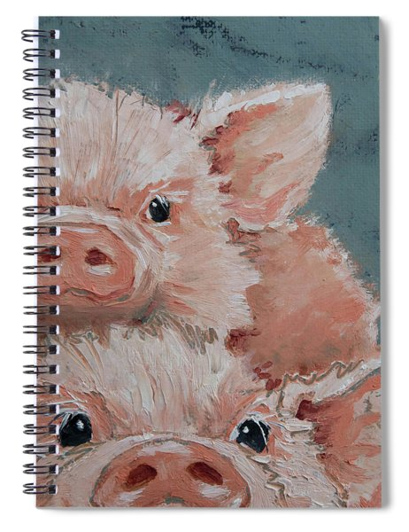 Photo Bomber Spiral Notebook by Jani Freimann