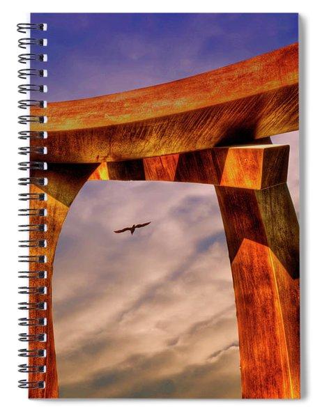 Pi In The Sky Spiral Notebook