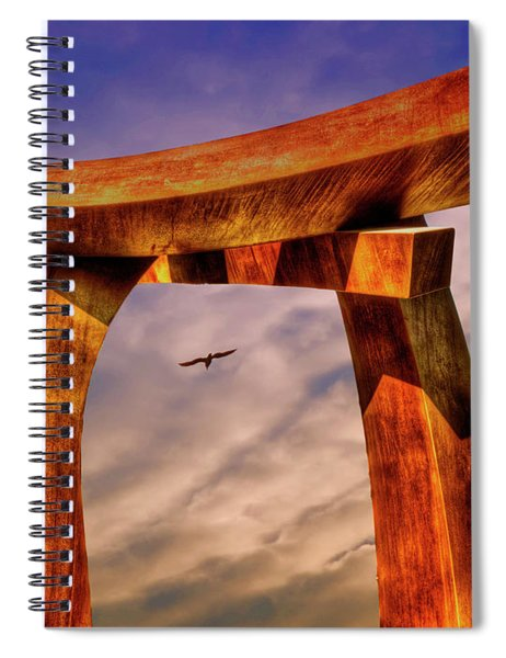 Pi In The Sky Spiral Notebook
