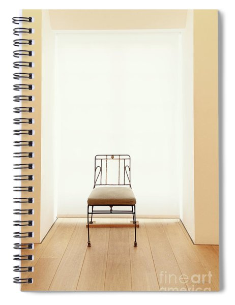 Picasso's Museum Chair Spiral Notebook