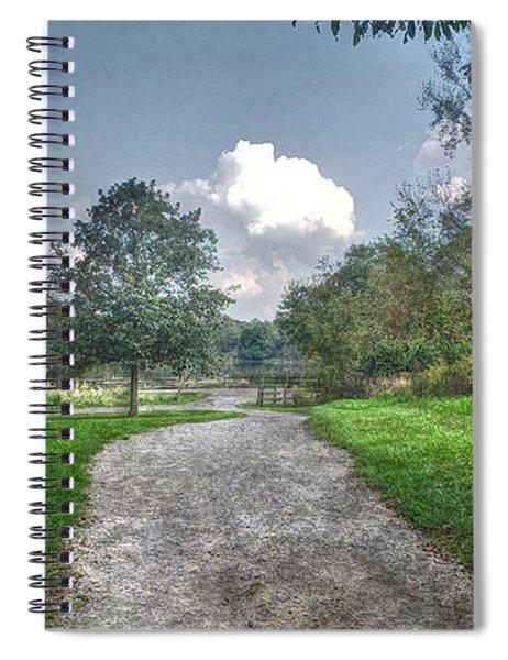 Pickerington Ponds Walkway Spiral Notebook