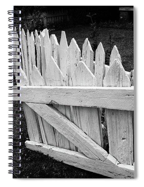 Pickett Fence Spiral Notebook