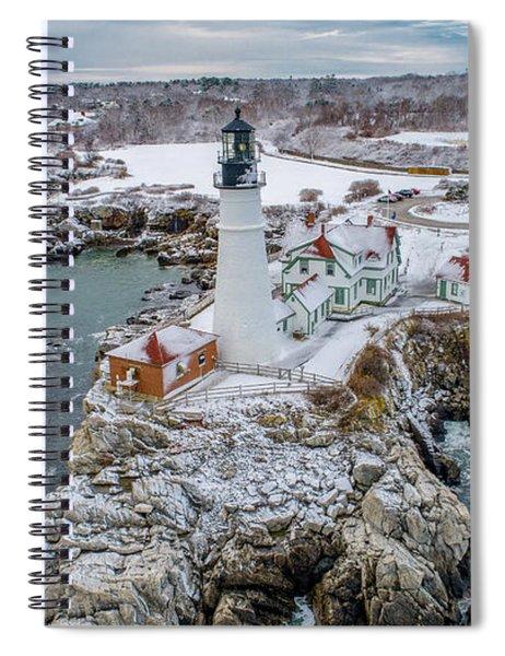 Picturesque Maine  Spiral Notebook