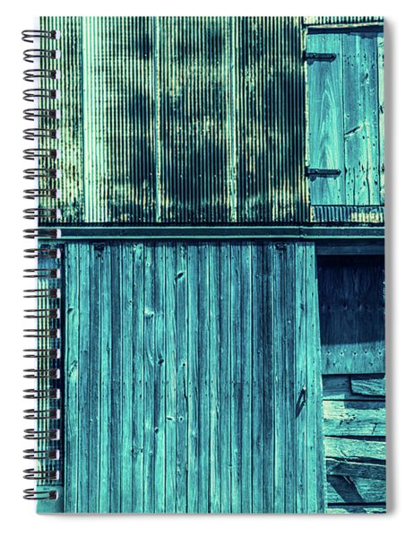 Pieces Of The Past Spiral Notebook
