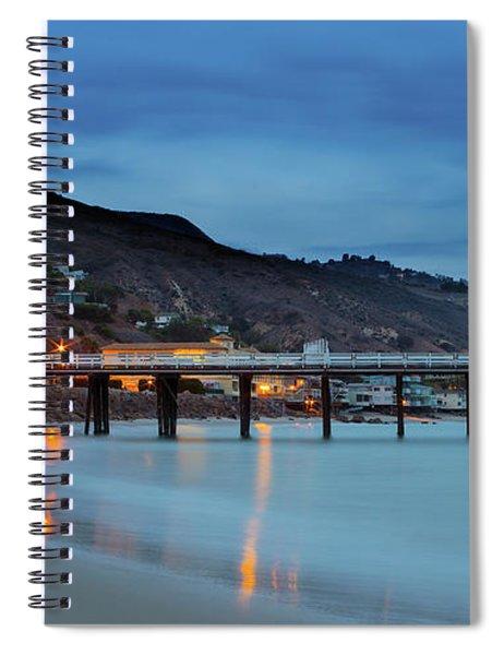 Pier House Malibu Spiral Notebook