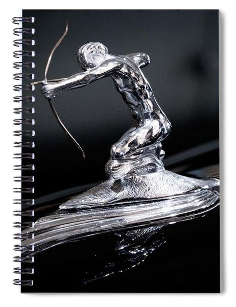 Pierce Arrow Classic Car Emblem Spiral Notebook