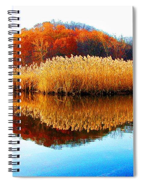 Piermont Autumn Backwater Spiral Notebook