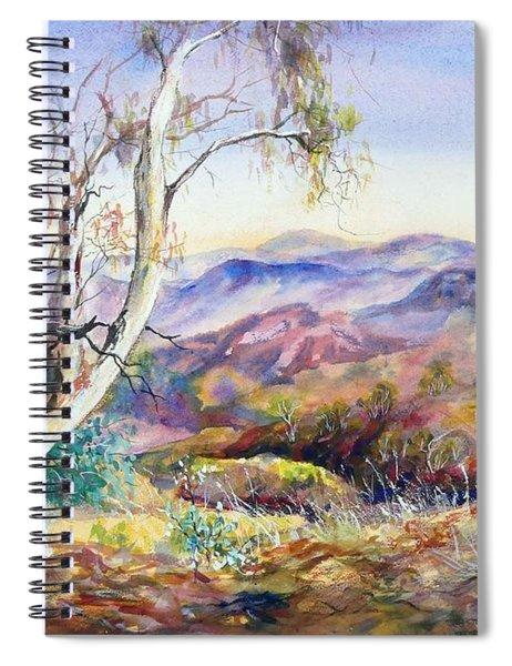 Pilbara, Hamersley Range, Western Australia. Spiral Notebook