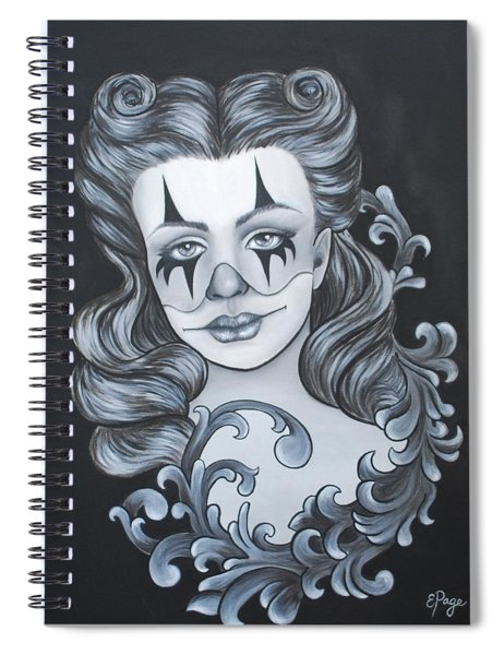 Pin Up Filigree Spiral Notebook