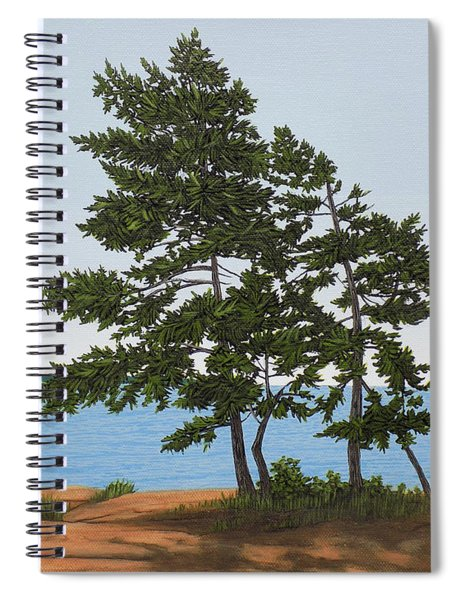 Pine On The Point Spiral Notebook