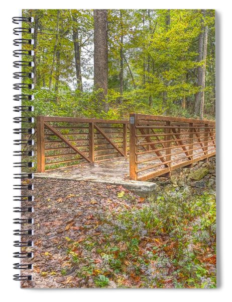 Pine Quarry Park Bridge Spiral Notebook