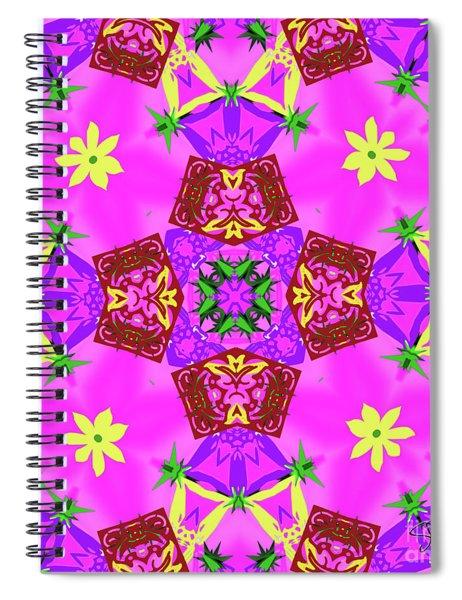 Pink 3 Spiral Notebook