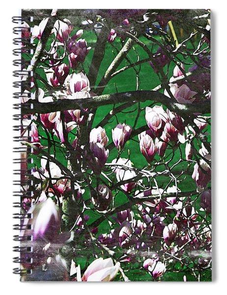 Pink Bush Spiral Notebook