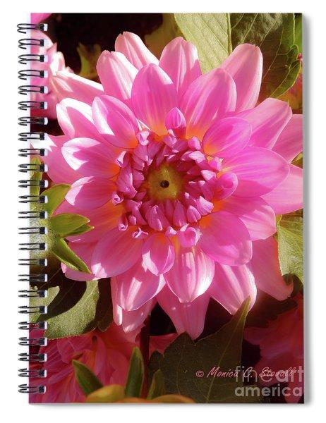 Pink Flower No. 32 Spiral Notebook