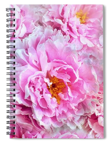 Pink Flowers Everywhere Spiral Notebook