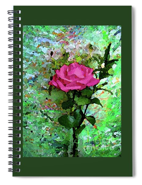 Pink Rose 1020 Spiral Notebook