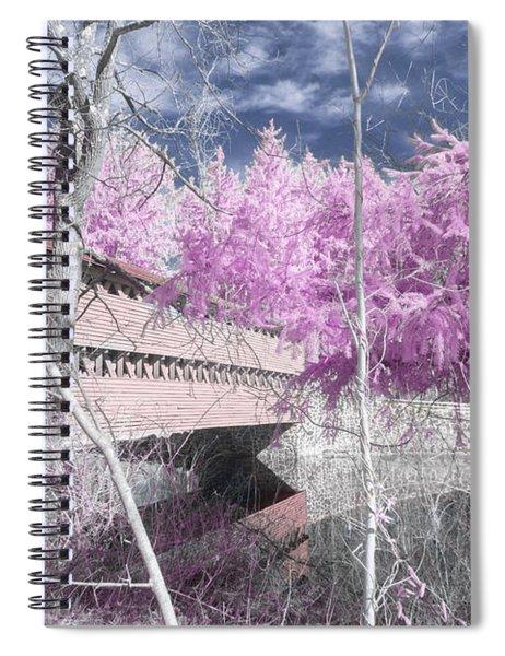 Pink Sachs Spiral Notebook