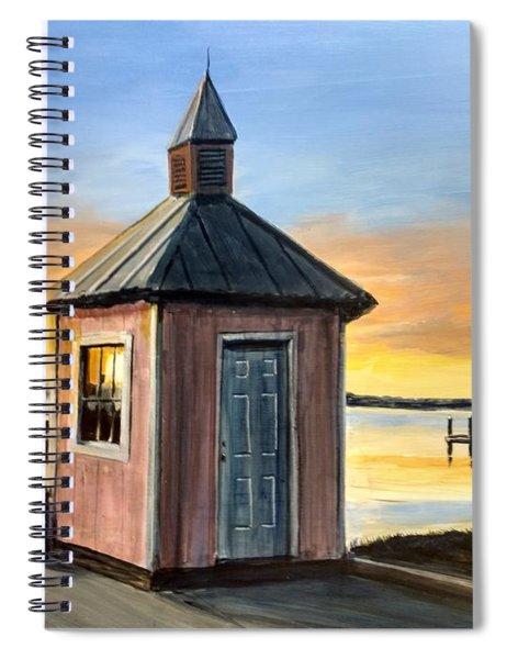 Pink Shed Spiral Notebook