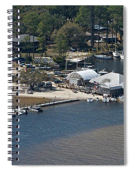 Pirates Cove - Natural Spiral Notebook