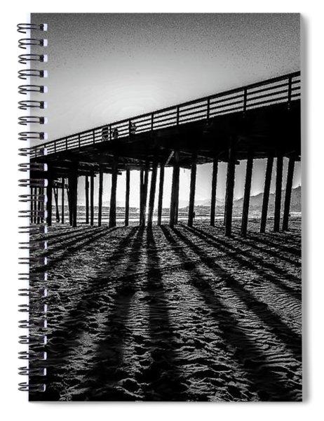 Pismo Beach Pier Spiral Notebook