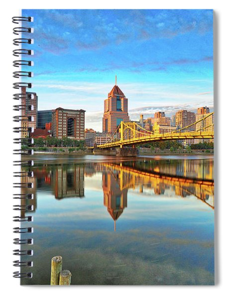 Pittsburgh Reflections Spiral Notebook