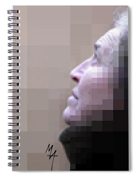 Pixel Portrait Spiral Notebook