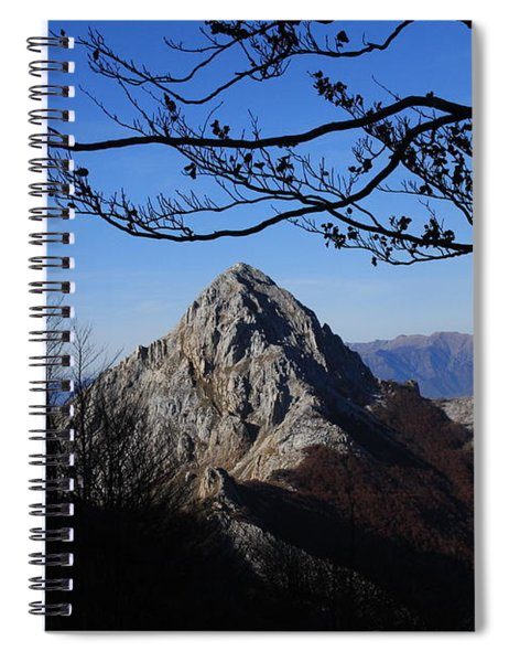 Pizzo D'uccello Alpi Apuane Spiral Notebook