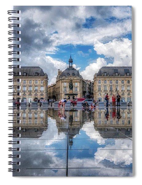 Place De La Bourse 1 Spiral Notebook