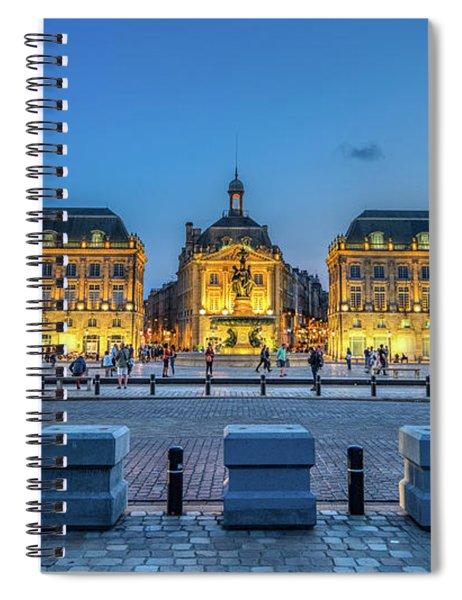 Place De La Bourse 2 Spiral Notebook