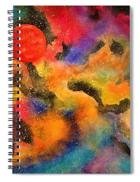 Planet Arcturus Spiral Notebook