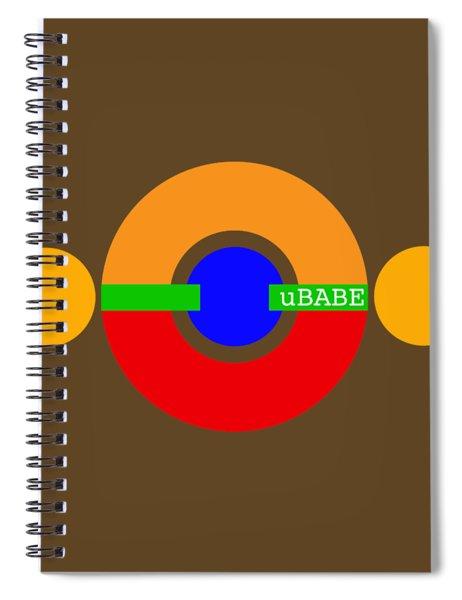 Planet Babe Spiral Notebook