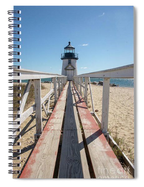 Plank To Brant Light House  Spiral Notebook