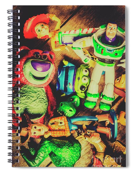 Play In Imagination Spiral Notebook