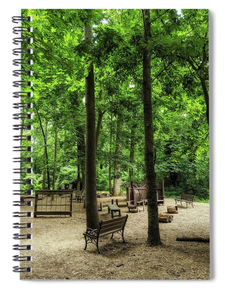 Play In The Shade Spiral Notebook