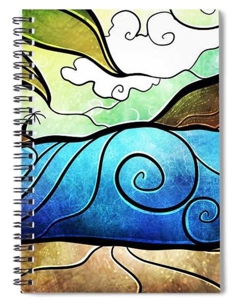 Playa Paraiso Spiral Notebook