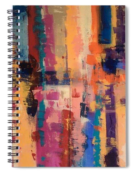 Playful Colors Iv Spiral Notebook