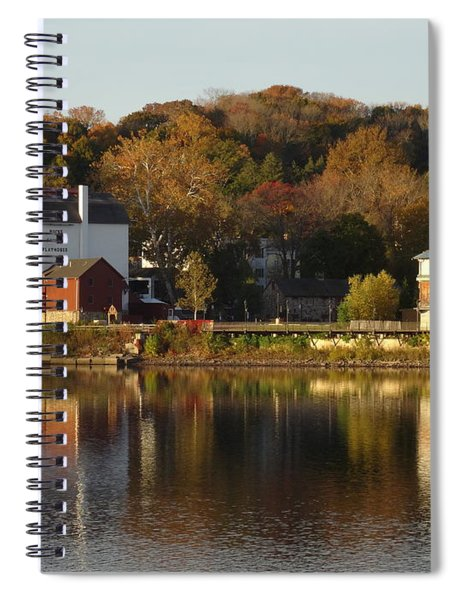 Playhouse In Fall Spiral Notebook